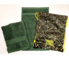 Zwemset Urban Jungle (kleur handdoeken naar keuze)