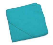 Badcape badstof blauw