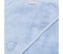 Badcape Olifantje in lichtblauwe badstof