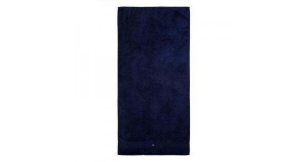Badhanddoek (70 cm x 140 cm) Tommy Hilfiger donkerblauw
