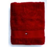 Badhanddoek (70 cm x 140 cm) Tommy Hilfiger rood