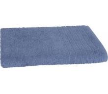 Badhanddoek (140 cm. x 70 cm.) Fairtrade blauw