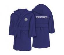 Kinderbadjas met kap (10-12 jaar) + handdoek Star Wars Stormtrooper in geschenkverpakking