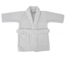 Kinderbadjas badstof wit