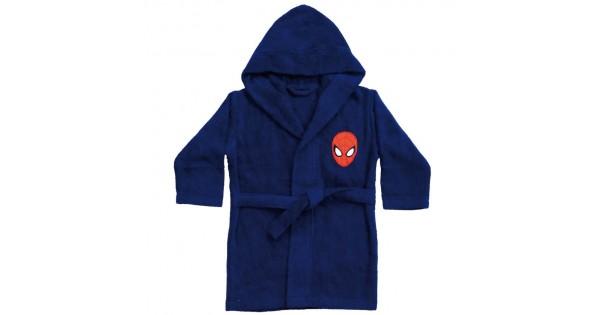 Badjas Spiderman 2/4 jaar (maat 86/102)