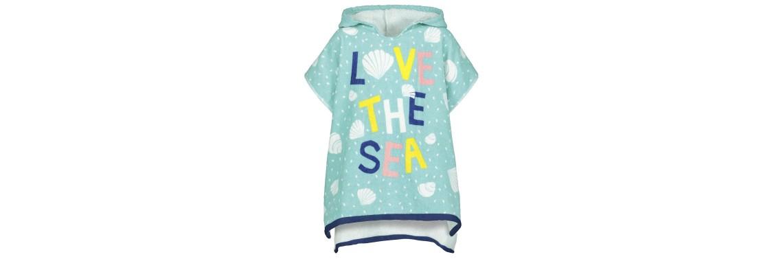 strandponcho LOVE THE SEA