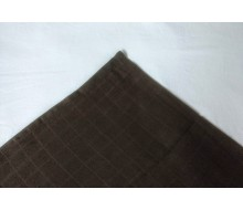 Verzorgingsdoek tetra chocolade 65cm x 65cm (optioneel: 1 washandje)