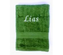 Handdoek (50 cm x 100 cm) De Witte Lietaer kleur cactus