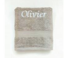 Handdoek (50 cm x 100 cm) De Witte Lietaer kleur dove