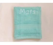 Handdoek (50 cm x 100 cm) De Witte Lietaer kleur plume