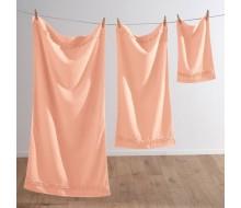 3-delige handdoekenset met fantasiestrook