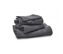 5-delige handdoekenset donkergrijs (500g/m²)