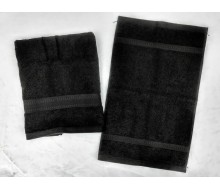 2-delige handdoeken(zwem)set Jules Clarysse zwart