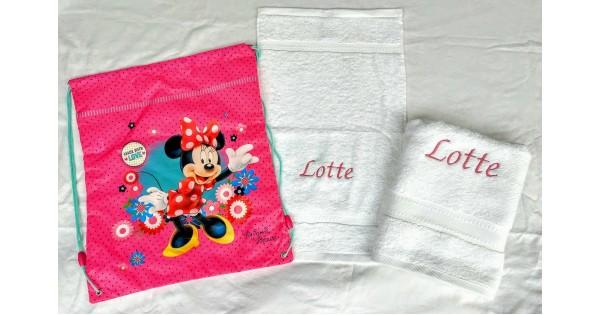 2-delige handdoekenset Jules Clarysse wit