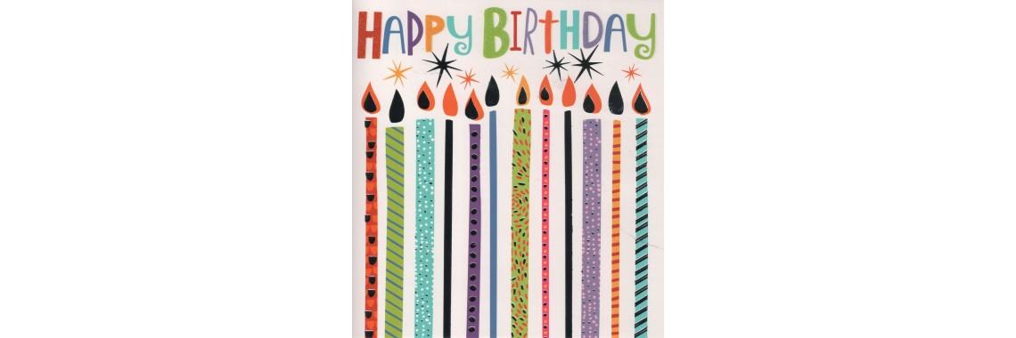 kaartje Happy Birthday