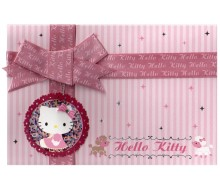Kaartje Hello Kitty