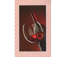 Kaartje rood wijntje
