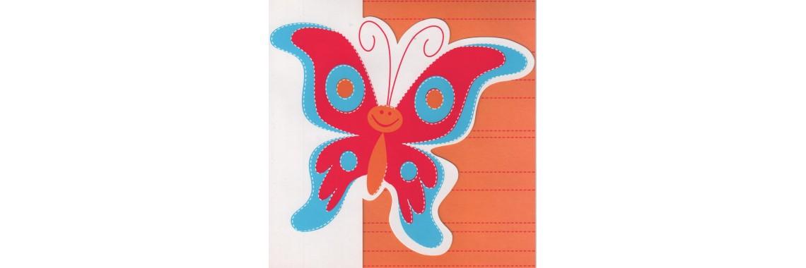 Kaart vlinder