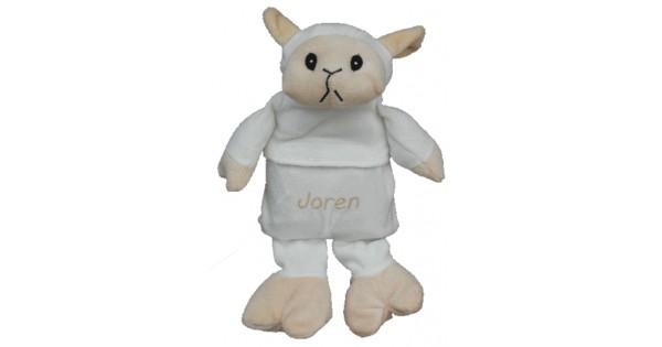 Warmte-knuffel schaap