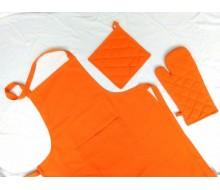 Keukenset oranje