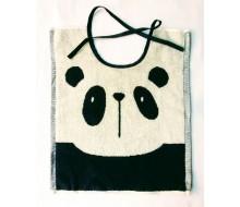 Slabbetje lintjes Clarysse panda