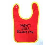 Slabbetje DADDY'S LITTLE BELGIUM FAN