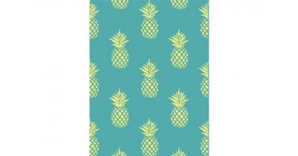 Strandlaken Ananas 175 cm x 90 cm