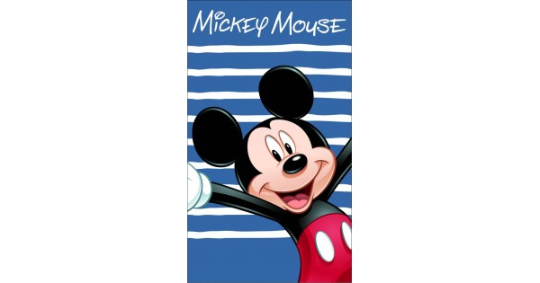 Strandlaken Mickey Mouse HAPPY