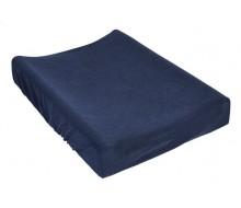 Waskussenhoes donkerblauw
