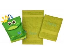 Zwemset Jocko kikker (kleur handdoeken naar keuze)